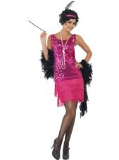 1920s Fun Time Flapper (Pink)